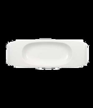 "Dessert/Starter Plate, 11-3/4"" x 4-3/8"", premium porcelain, Urban Nature"