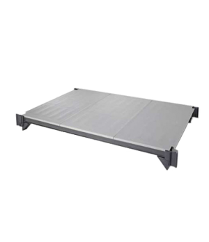 """Camshelving® Elements Mobile Shelf Plate Kit, 18""""W x 48""""L, solid, with Camguard®"""