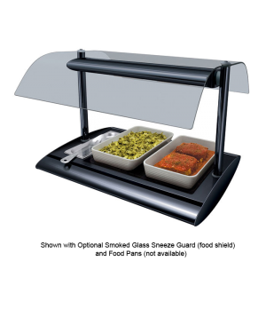 Serv-Rite® Portable Buffet Warmer, with top light from halogen heat, digital tem