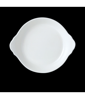 "Eared Dish, 19 oz., 7-1/2"" dia., round, vitrified china, Performance, Simplicity"