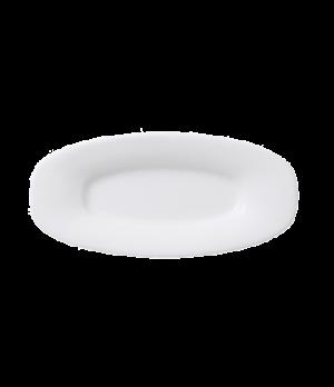 "Platter, 7-3/4"" x 3-3/4"", oval, premium porcelain, Affinity"