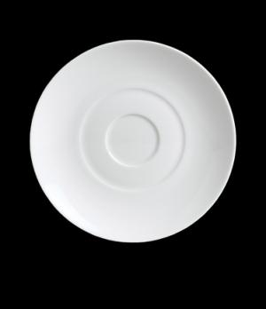 "Demitasse Saucer, 5"" dia., round, porcelain, Duo, Rene Ozorio (USA stock item) ("