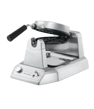 "Belgian Waffle Maker, single, up to (25) 1"" thick waffles per hour, audio beep s"