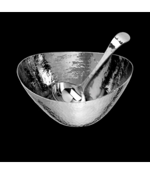 """Sauce Boat Set, with ladle, 6-1/2"""" x 5"""" x 3-3/8"""", 18/10 stainless steel, WNK Acc"""