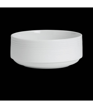 "Salad Bowl, 21-1/4 oz., 5-3/4"" dia., round, stackable, porcelain, Rene Ozorio Vi"
