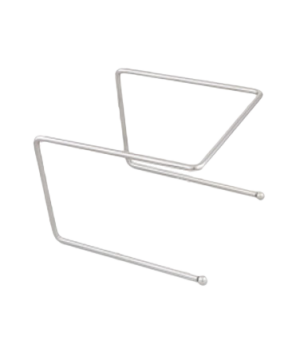 """Pizza Stand, 6-3/4"""" x 8-1/2"""" x 9"""", 5/16"""" wire rod, chrome-plated"""