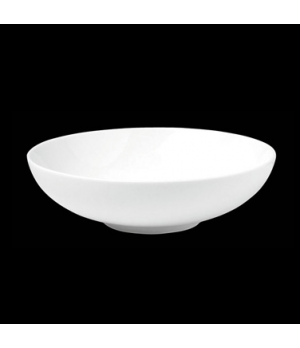 "Bowl, 37 oz., 8"" dia. X 2-3/8""H, round, deep, porcelain, Tria, Simple Plus (mini"