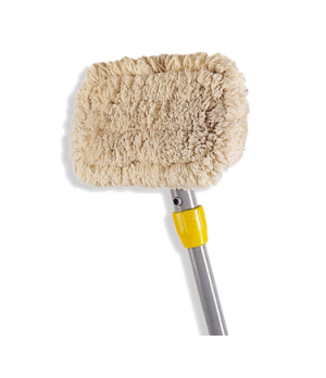 "Wall Washer Kit, 60""L, includes: 1 wood handle, 1 plastic head and 2 cotton pads"
