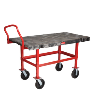 "Platform Truck, Work-Height, 30"" x 60"", 2000 lb capacity, single, adjustable pla"
