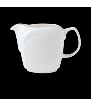 Jug / Creamer, 2-1/2 oz., handled, Distinction, Bianco, Noir (UK stock item) (mi