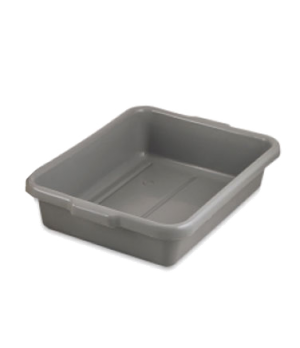 "Dish 'N Tote Box, 21-5/8"" x 16"" x 5"", seamless, under rim lugs, dishwasher safe,"