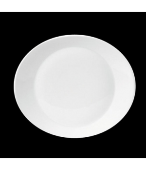 "Joy Plate, 11-3/4"" X 10-1/4"" (7-7/8"" well), oval, porcelain, Tria, Simple Plus ("