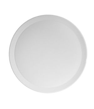 "Pizza/Cake Platter, 10-1/2"" (26-1/2 cm), round, narrow rim, rolled edge, flat, s"