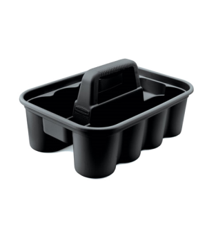"Deluxe Carry Caddy, 16""W x 11""D x 6-3/4""H, Black"