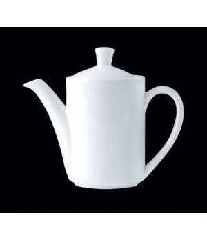 Coffee Pot, 11 oz., Lid 4, Distinction, Vogue, Vogue White (priced per case, pac