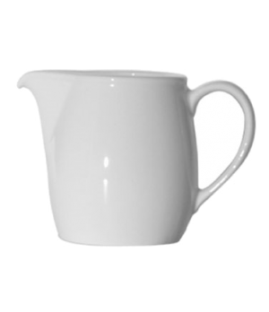 Jug, 3-1/2 oz. (0.10 liter), with handle, scratch resistant, oven & microwave sa