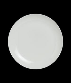 """Plate, 6-1/2"""" dia., round, coupe, porcelain, Varick Alpha-Ceram (USA stock item)"""