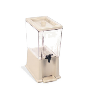 "Beverage Dispenser, 5 gallon, 16-3/4""W x 10-3/8""D x 22-3/4""H, includes: tank, ba"