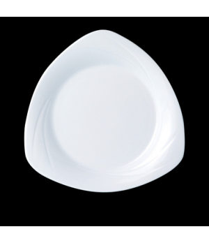 "Specialty Plate, 10"" dia., round, Distinction, Alvo, Alvo White (Canada stock it"