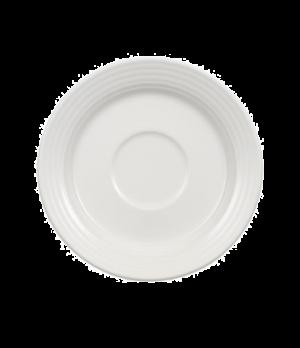 """Saucer, 6"""", premium porcelain, Perimeter"""