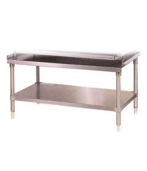 "Steakhouse Equipment Stand, 24"", undershelf, legs, stainless steel construction,"