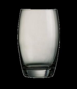 """Tumbler Glass, 11-3/4 oz., grey, glass, Arcoroc, Salto, (H 4-3/4""""; M 3"""")"""