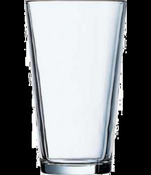 "Mixing Glass, 16 oz., glass, Arcoroc, Professional (H 5-3/4""; T 3-1/2""; B 2-3/8"""