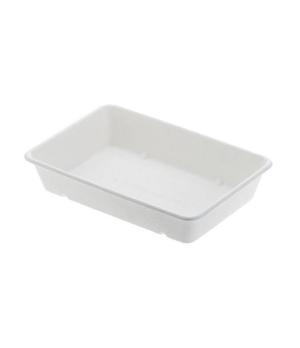 "Disposable Tray, 27 oz. (800 ml), 9"" x 5-9/10"" x 1-3/4"" (23 x 15 x 4.5 cm), rect"