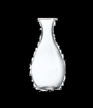 "Carafe, 1 liter, 9-1/8""H, glass, Arcoroc, Elegance, Luminarc, clear"
