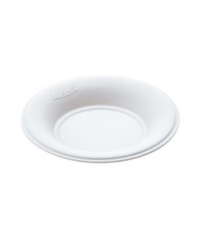 """Disposable Finger Food Plate, 2-5/6"""" dia. (7.2 cm), round, biodegradable/compost"""
