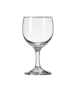"Wine Glass, 8-1/2 oz., Safedge® Rim and foot guarantee, EMBASSY®, (H 5-5/8""; T 2"