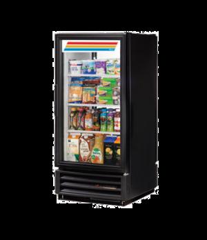 Refrigerated Pass-thru Merchandiser, one-section, (3) shelves, laminated vinyl e