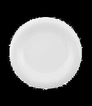 "Plate, 11-3/8"", flat, premium porcelain, Sedona"