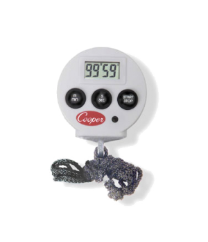 """Chef's Timer, with Alarm, electronic, 2.2"""" x 0.5"""" (5.6cm x 1.3cm) counts up to 9"""
