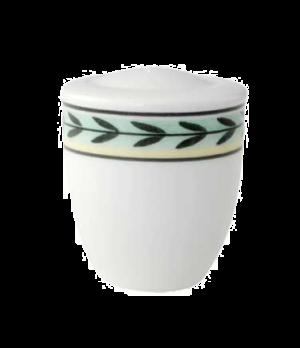 """Pepper Shaker, 2-1/8"""", premium porcelain, French Garden-Dampierre"""