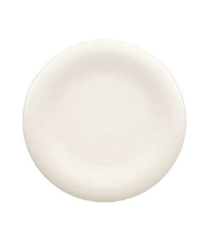 "Plate, 11-3/8"", flat, premium porcelain, Dune"