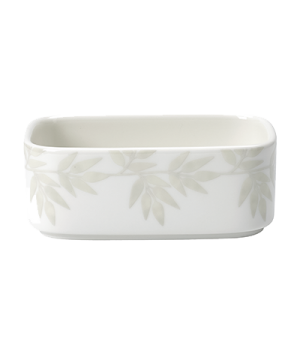 "Sugar Bowl, 4"" x 2-1/2"" x 1-1/2"" (10.16 x 6.35 x 3.81cm), rectangular, salamande"