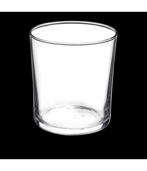 "Bodega Glass, 12-1/2 oz., 3-1/4"" x 3-1/2"", medium, tempered, Bormioli (USA stock"