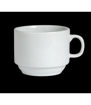 Capuccino Cup, 11-1/4 oz., stackable, porcelain, Varick Cafe Porcelain (minimum