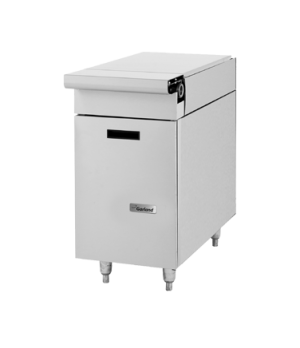 "Master Series Spreader Cabinet, 17"" wide top, cabinet base with one door, stainl"