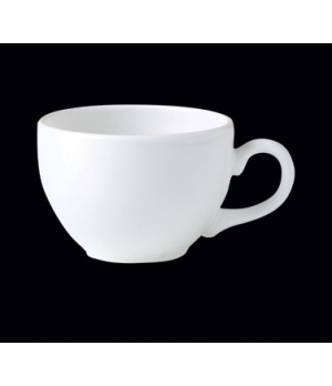 "Cup, 12 oz., 5-1/8""W x 2-3/4""H, low, Distinction, Monaco, Monaco White (USA stoc"