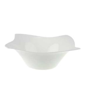 "Salad Bowl, 11-3/4"" x 11-3/4"", 51 oz., premium bone porcelain, New Wave Premium"