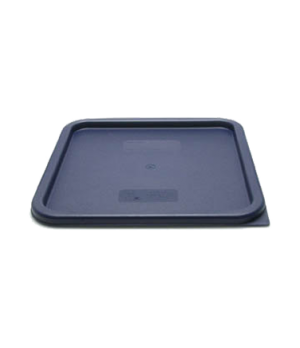 Cover, for 12, 18 & 22 qt. containers, blue polyethylene, NSF