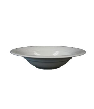(24529) Fusion Soup Bowl, 15 oz., round, rimmed, flared, embossed, bone china, m