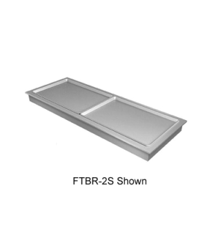 "Drop-In Frost Top, 21-1/16""L, accommodates (1) full size sheet pan, auto defrost"