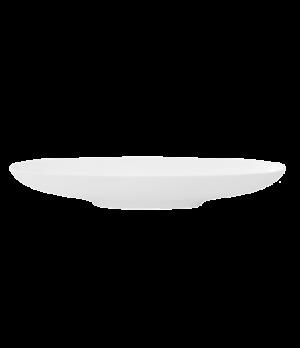 """Bowl, 11-1/4"""" x 2-3/7"""", oval, premium bone porcelain, Modern Grace"""