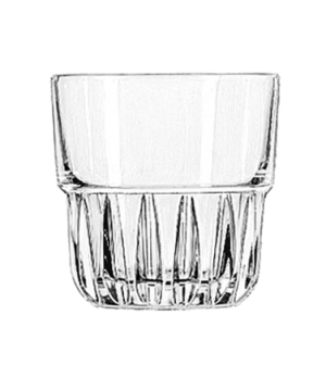 "Rocks Glass, 9 oz., stackable, DuraTuff®, EVEREST, (H 3-1/4""; T 3-3/8""; B 2-3/4"""