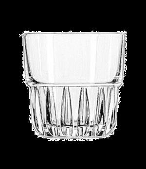 "Rocks Glass, 9 oz., stackable, DuraTuff®, EVEREST, (H 3-1/4""; T 3-3/8""; B 2-3/4"""