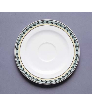 "Saucer, 6-7/8"", (cup OCR's -1210), premium porcelain, French Garden-Dampierre (S"