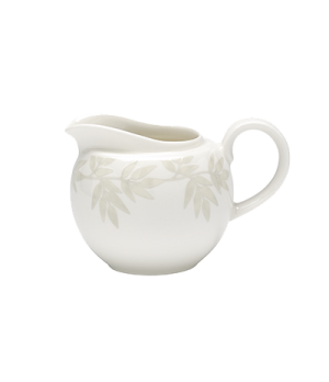 Creamer, 8-1/2 oz. (0.25 liter), globe shape, salamander/microwave/dishwasher sa